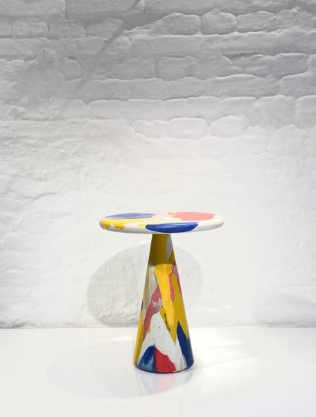 DIRK VANDER KOOIJ Melting Pot Table Multicolour ⌀40 x h47cm
