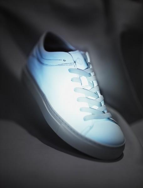 NAT-2 Sneaker Sleek Low Vegan White Reflective