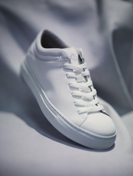 NAT-2 Sneaker Sleek Low All White