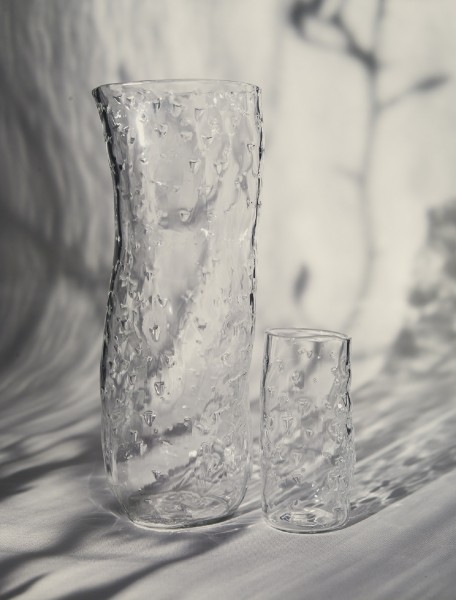 JOCHEN HOLZ Clear Textured Carafe - Sting - X-Large