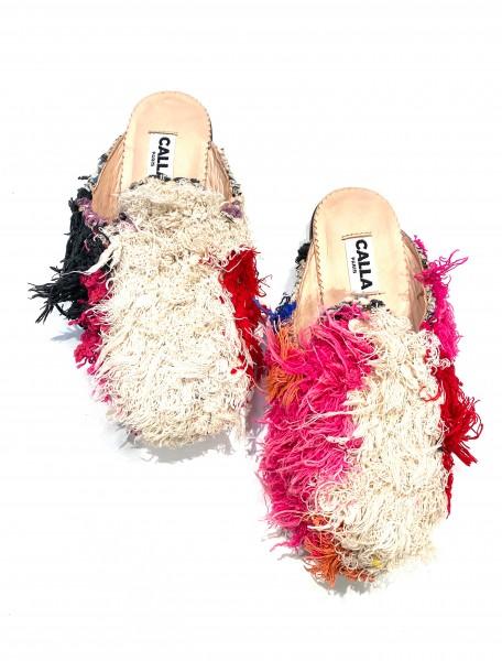 CALLA - NIKI Babouches - Fuzzy Pink