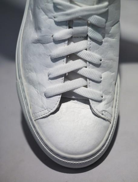 NAT-2 Sneaker Sleek Low Tyvek Vegan White Paper